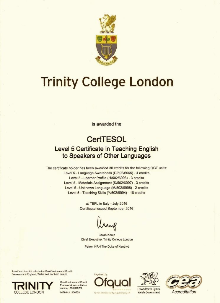 the trinity cert tesol courses in spain at tefl in spain malaga
